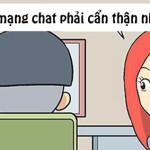Lên mạng chat chít phải cẩn thận