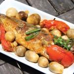 Ngon thơm cá kho nấm