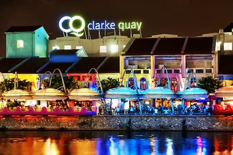 Cầu cảng Clarke Quay ở Singapore- Khu vui chơi giải trí đẳng cấp quốc tế