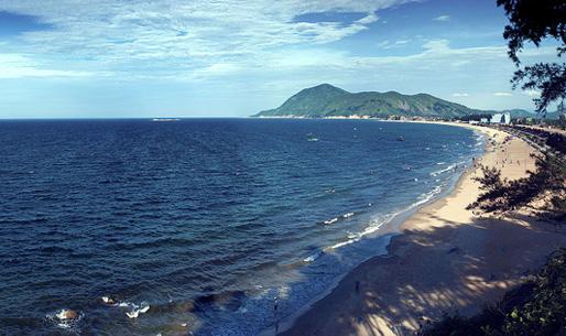 Vẻ đẹp bãi biển Thiên Cầm
