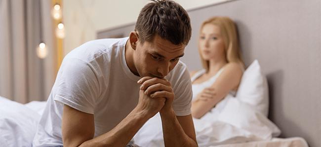 Nam giới thường lo lắng khi bị rối loạn cương dương
