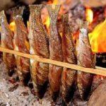 Đặc sản Sapa - Cá suối nướng