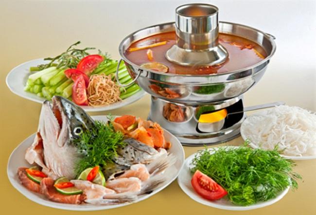 Lẩu cá hồi - Đặc trưng ẩm thực của Sapa