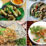 Hấp dẫn các món ăn được chế biến từ đẻn biển