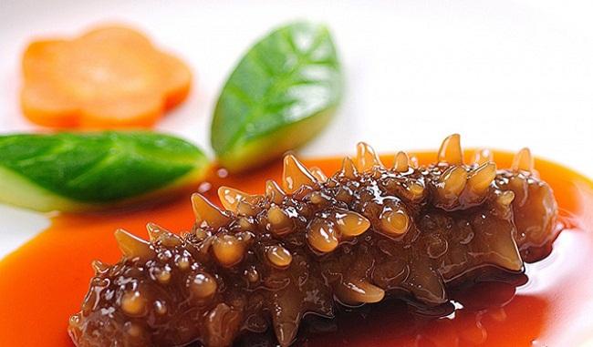 Thưởng thức món ăn từ Hải Sâm