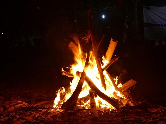 Cùng nhau thắp sáng lửa trại