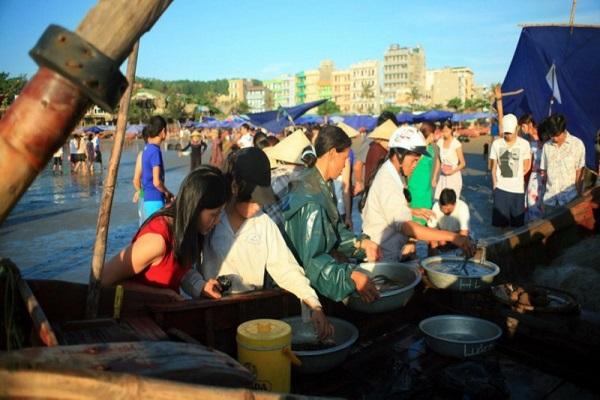 Chợ vồ Sầm Sơn