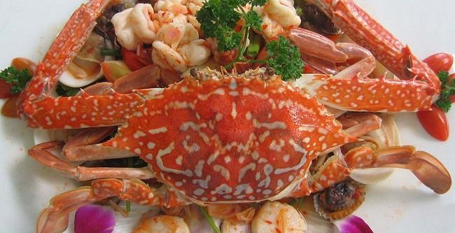 Cua ghẹ biển Sầm Sơn