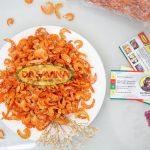 Ăn tôm khô không những không gây béo mà còn hỗ trợ quá trình giảm cân