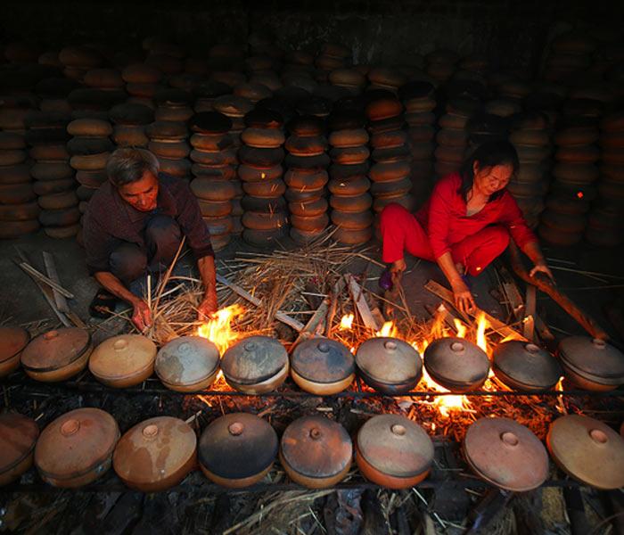 Món cá kho làng Vũ Đại gắn bó với người dân trong làng từ rất lâu đời